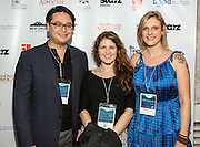 Laura Mohai and Candice Vaughn on the red carpet during opening night of the 25th Anniversary New Orleans Film Festival; Opening night film is 'Black and White' directed by Mike Binder