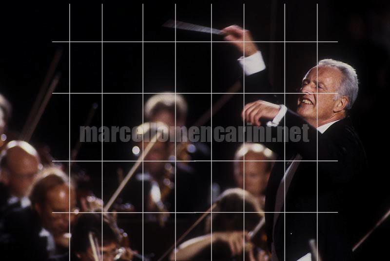 Conductor Carlos Kleiber, Pompei 1987 - © Marcello Mencarini