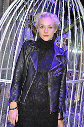 PORTIA FREEMAN at a reception to celebrate the launch of 'A Crystal Christmas'  - inspired by Swarovski and held at Harrods, Knightsbridge, London on 8th November 2011.  Following the reception a private dinner was held at One Hyde Park, Knightsbridge.