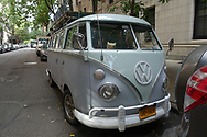 the NYC Photobus, a VW bus seen on the upper west side