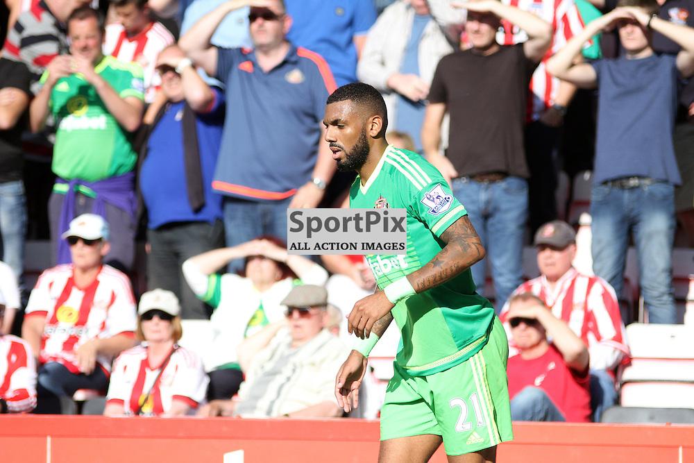 YANN M'VILA During Bournemouth vs Sunderland on Saturday 19th September 2015.