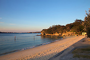 The last golden rays of light on Nielsen Park, Sydney. 22.09.12