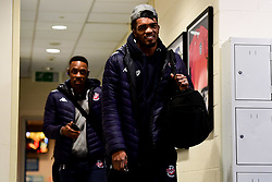 Marcus Delpeche of Bristol Flyers arrives at SGS Wise Arena prior to kick off - Photo mandatory by-line: Ryan Hiscott/JMP - 15/11/2019 - BASKETBALL - SGS Wise Arena - Bristol, England - Bristol Flyers v London City Royals - British Basketball League Cup