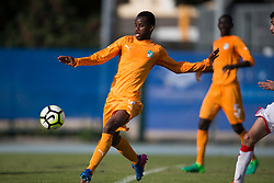 AUBAGNE, FRANCE - Tuesday, May 30, 2017: Ivory Coast's Alkhayyat Husain Abbas in action during the Toulon Tournament Group B match between Bahrain and Ivory Coast at the Stade de Lattre-de-Tassigny. (Pic by Laura Malkin/Propaganda)