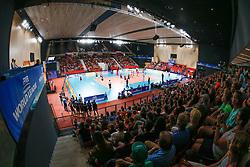 20170617 NED: FIVB Volleybal World League 2017 The Netherlands - Slovakia: Den Haag <br />Overview, Topsporthal Zuiderparkcampus Den Haag <br />&copy;2017-FotoHoogendoorn.nl / Pim Waslander