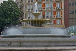 Fountain, Plaza de Don Federico Moyúa, Bilbao