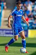 Gillingham FC defender Lee Hodson (2) during the EFL Sky Bet League 1 match between Gillingham and Wycombe Wanderers at the MEMS Priestfield Stadium, Gillingham, England on 14 September 2019.