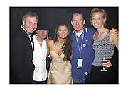 Butch Waugh,Exec. VP, RLG Nashville,Kenny Chesney, Ali Landry, Brian Philips CMT Senior VP/General Mananger &amp; Ann Sarnoff,COO VH1/CMT At the Post Party celebration for the first ever CMT Flameworthy Video Music Awards at the Gaylord Entertainment Center in Nashville Tennesee. 6/12/02<br /> Photo by Rick Diamond/PictureGroup.