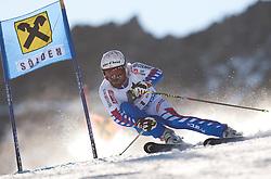 23.10.2011, Rettenbachferner, Soelden, AUT, FIS World Cup Ski Alpin, Herren, Riesenslalom, im Bild Gauthier De Tessieres (FRA) // during Mens ginat Slalom at FIS Worldcup Ski Alpin at the Rettenbachferner in Solden on 23/10/2011. EXPA Pictures © 2011, PhotoCredit: EXPA/ Johann Groder