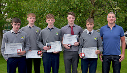 Rice College Awards Night Junior Cross-Country team.<br />