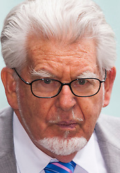 London, June 26th 2014. Entertainer and artist Rolf Harris leaves Southwark Crown Court after a sixth day of waiting for the jury's verdict on the 12 counts of indecent assault against 4 girls aged 7- 16 that he faces.