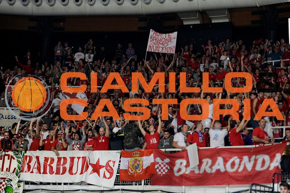 DESCRIZIONE : Bologna Lega A 2014-2015 Granarolo Bologna Giorgio Tesi Group Pistoia<br /> GIOCATORE : tifosi<br /> CATEGORIA : tifosi<br /> SQUADRA : Giorgio Tesi Group Pistoia<br /> EVENTO : Campionato Lega A 2014-2015<br /> GARA : Granarolo Bologna Giorgio Tesi Group Pistoia<br /> DATA : 01/03/2015<br /> SPORT : Pallacanestro<br /> AUTORE : Agenzia Ciamillo-Castoria/M.Marchi<br /> GALLERIA : Lega Basket A 2014-2015<br /> FOTONOTIZIA : Bologna Lega A 2014-2015 Granarolo Bologna Giorgio Tesi Group Pistoia<br /> PREDEFINITA :