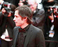 Actor Gael Garcia Bernal at the Foxcatcher gala screening red carpet at the 67th Cannes Film Festival France. Monday 19th May 2014 in Cannes Film Festival, France.