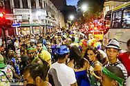 Rio de Janeiro, Lapa, Strassen Karneval, Brasilien