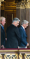 08.07.2016, Historischer Sitzungssaal, Wien, AUT, Parlament, Bundesversammlung zur Verabschiedung des scheidenden Bundespräsidenten Fischer, im Bild TEXT // during farewell ceremony for the federal president of austria at austrian parliament in Vienna, Austria on 2016/07/08, EXPA Pictures © 2016, PhotoCredit: EXPA/ Michael Gruber