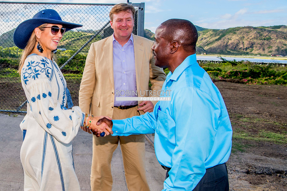 30-11-2017 -  ORANJESTAD - King Willem-Alexander and Queen Maxima visit the first house on Sint Maarten that is being repaired with Dutch support. The island was hit by hurricanes Irma and Maria in early September. ROBIN UTRECHT<br /> 30-11-2017 -  ORANJESTAD - King Willem-Alexander and Queen Maxima arrive at St. Eustatius. The royal couple brings a search to St. Eustatius, Saba and Sint Maarten. Hurricane Irma crossed the islands at the beginning of September. ROBIN UTRECHT