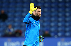 Hugo Lloris of Tottenham Hotspur - Mandatory by-line: Robbie Stephenson/JMP - 28/11/2017 - FOOTBALL - King Power Stadium - Leicester, England - Leicester City v Tottenham Hotspur - Premier League