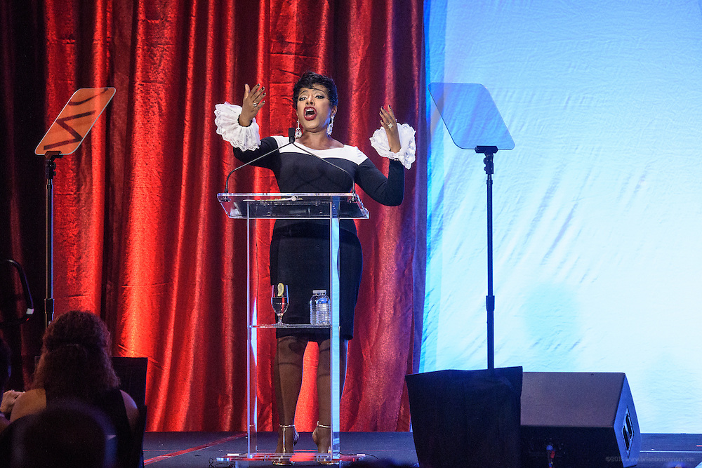Sheryl Lee Ralph, recipient of the Muhammad Ali Humanitarian Award for Global Citizenship performs at the fourth annual  Muhammad Ali Humanitarian Awards Saturday, Sept. 17, 2016 at the Marriott Hotel in Louisville, Ky. (Photo by Brian Bohannon for the Muhammad Ali Center)