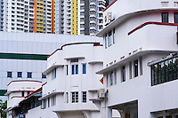Singapour, le quartier Art Deco de Tiong Bahru  // Singapore, Art Deco district of Tiong Bahru