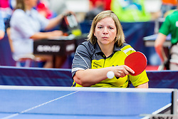 KANOVA Alena in action during 15th Slovenia Open - Thermana Lasko 2018 Table Tennis for the Disabled, on May 10, 2018 in Dvorana Tri Lilije, Lasko, Slovenia. Photo by Ziga Zupan / Sportida