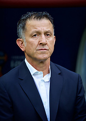 MOSCOW, RUSSIA - Sunday, June 17, 2018: Mexico's head coach Juan Carlos Osorio during the FIFA World Cup Russia 2018 Group F match between Germany and Mexico at the Luzhniki Stadium. (Pic by David Rawcliffe/Propaganda)
