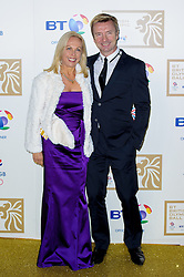 Jayne Torvill and Christopher Dean during the BT Olympic Ball, held at the Grosvenor Hotel, London, UK, November 30, 2012. Photo By Anthony Upton / i-Images.