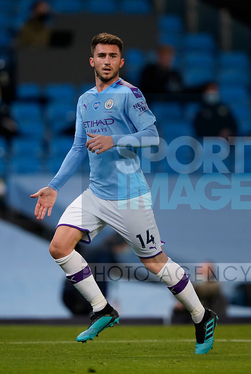 Aymeric Laporte of Manchester City  during the Premier League match at the Etihad Stadium, Manchester. Picture date: 22nd February 2020. Picture credit should read: Andrew Yates/Sportimage