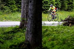 Urska Bravec competes at Sloveian Road Cycling Championship Time Trial 2020 Gorje - Pokljuka, on June 28, 2020 in Pokljuka, Slovenia. Photo by Matic Klansek Velej / Sportida