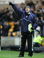 Photo: Paul Thomas.<br /> Port Vale v Bristol City. Coca Cola League 1. 17/12/2005.<br /> <br /> Port Vale manager, Martin Foyle.