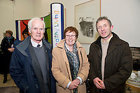Liam Hyland Galway education committee and Ann Htyland Oranmore Boy's School and Tony Reidy Galway Education Committee at The Galway Education Centre for the launch of the annual Medtronic Foundation Programme. The programme which has been in existence for over ten years now includes the Medtronic Healthy Living Initiative, The Medtronic Scientist of The Future Project and The Medtronic KNEX Challenge..As part of their Healthy Living Initiative, The Medtronic Foundation partners with The Galway Education Centre to run a number of programmes in Galway City and County schools. In 2012, the Medtronic Foundation Community Connections programme included  gymnastics and skipping while a number of schools took part in the schools garden project. Perhaps the most ambitious was the heart dissection initiative which saw Medtronic staff in the classroom taking children as young as 6, step by step through a heart dissection!