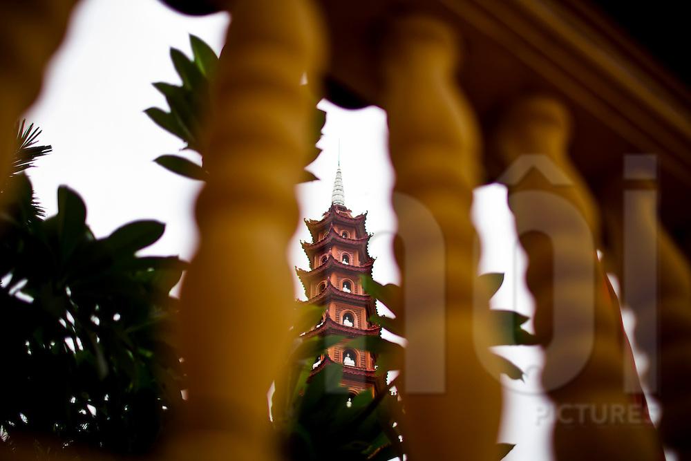Tran Quoc Pagoda, Hanoi, Vietnam, Southeast Asia