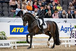 Barbancon Mestre Morgan, ESP, Sir Donnerhall II Old<br /> LONGINES FEI World Cup™ Finals Gothenburg 2019<br /> © Hippo Foto - Stefan Lafrentz<br /> 05/04/2019