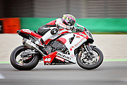 Tommy Bridewell (46) Bennetts Suzuki during qualifying at the BSB Championship at the TT Circuit,  Assen, Netherlands on 1 October 2016. Photo by Nigel Cole.
