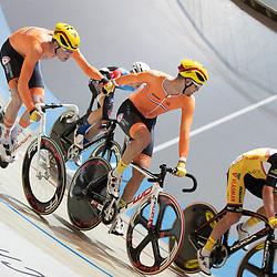 30-12-2018: Wielrennen: NK Baan: Apeldoorn<br />Melvin van Zijl, Dion Beukeboom