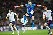 Italy forward Andrea Belotti (9) during the Friendly match between England and Italy at Wembley Stadium, London, England on 27 March 2018. Picture by Toyin Oshodi.