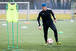 Ajdin Mulalic during Training of NK Domzale, on January 10, 2018 in Sports park Domzale, Domzale, Slovenia. Photo by Ziga Zupan / Sportida
