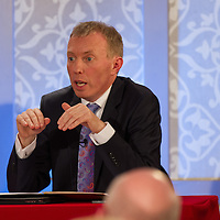 Clare TD for FIne Fail, TImmy Dooley during Vincent Browne People's Debate at the Auburn Lodge Hotel on Friday 16th January