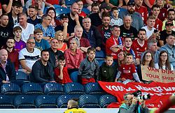 BLACKBURN, ENGLAND - Thursday, July 19, 2018: Mark Roberts and family during a preseason friendly match between Blackburn Rovers FC and Liverpool FC at Ewood Park. (Pic by David Rawcliffe/Propaganda)