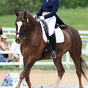 Andrea Bingham and Voldemort at the 2010 Equivents Spring Classic in Milton, Ontario.