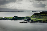 Eastern coast of Isle of Skye Scotland