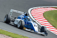 #21 Chase OWEN (USA) Hillspeed during British F3 Championship as part of the BRDC British F3/GT Championship Meeting at Oulton Park, Little Budworth, Cheshire, United Kingdom. April 15 2017. World Copyright Peter Taylor/PSP.