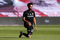 Zak Vyner of Bristol City takes a knee for Black Lives Matter - Mandatory by-line: Robbie Stephenson/JMP - 01/07/2020 - FOOTBALL - The City Ground - Nottingham, England - Nottingham Forest v Bristol City - Sky Bet Championship
