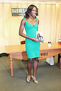 7 July 2010- New York, NY- Venus Williams at book signing for her new book ' Come to Win ' held at Barnes & Noble as she begins her promotion of her new book ' Come to Win ' published by HarperCollins on July 7, 2010 in New York City.