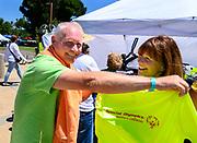 David Heffernan swimming in the Special Olympics at UC Davis June 22, 2019.