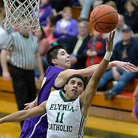 2.13.2015 Lakewood at Elyria Catholic Boys JV/Varsity