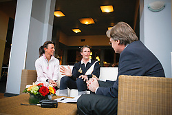 Leprevost Penelope (FRA) - Staut Kevin (FRA)<br /> Kemperman Frank <br /> CSI-W 's Hertogenbosch 2010<br /> © Dirk Caremans