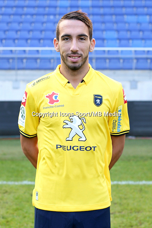 Florian TARDIEU - 04.10.2014 - Photo officielle Sochaux - Ligue 2 2014/2015<br /> Photo : Icon Sport