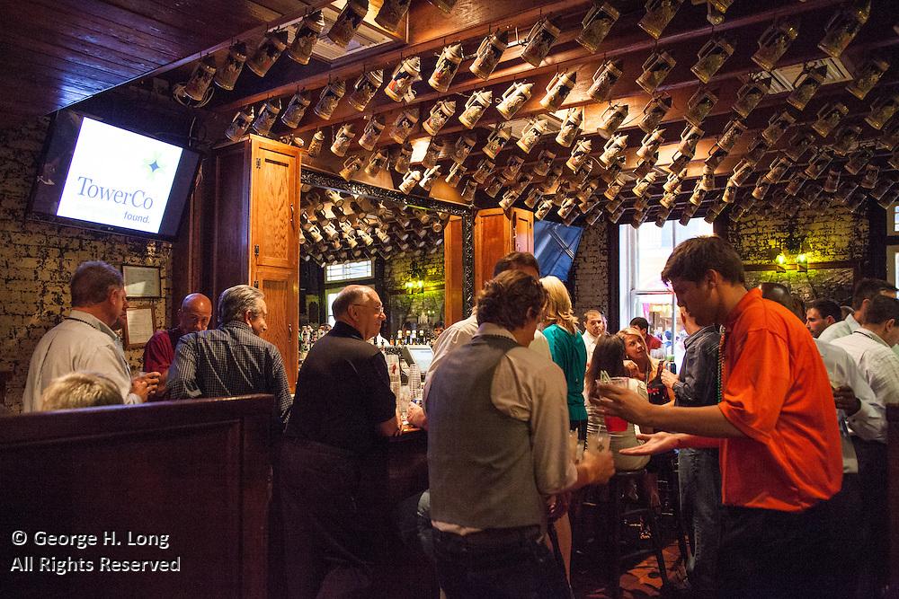 TowerCo party at Pat O'Brien's
