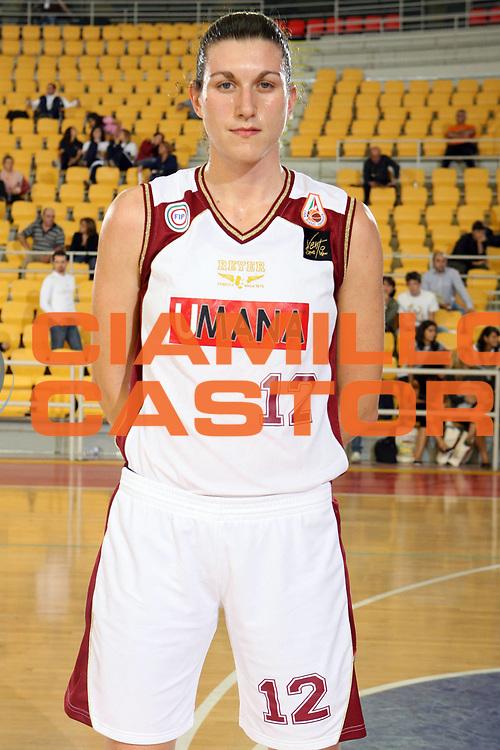 DESCRIZIONE : Roma Lega A1 Femminile 2008-09 Prima giornata Campionato <br /> GIOCATORE : Eva Giauro<br /> SQUADRA : Umana Reyer Venezia<br /> EVENTO : Campionato Lega A1 Femminile 2008-2009 <br /> GARA : <br /> DATA : 11/10/2008 <br /> CATEGORIA : Ritratto<br /> SPORT : Pallacanestro <br /> AUTORE : Agenzia Ciamillo-Castoria/E.Castoria