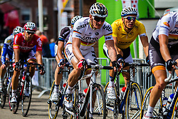Andre GREIPEL (GER, LOT) and Marcel KITTEL (GER, GIA) Stage 3 Buchten - Buchten, Ster ZLM Toer, Buchten, The Netherlands, 20th June 2014, Photo by Thomas van Bracht / Peloton Photos